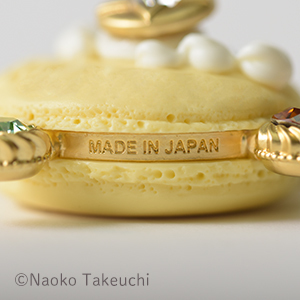 [Only for Pretty Guardians members] Q-pot. x Pretty Guardians transformation brooch macaron necklace