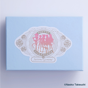[Pretty Guardians Members Only] Pretty Guardians x Savons Gemme, Little Gem + Mini Bath Salt Set, Pretty Guardians ver.