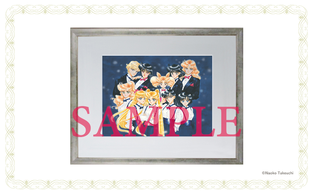 "Illustration Nakayosi 65th Anniversary Original Illustration Duplicate ""Pretty Guardian Sailor Moon"" Pretty Guardians Limited ver."
